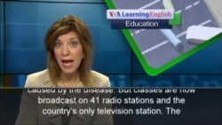 Sierra Leone Uses Radio to Replace Classes