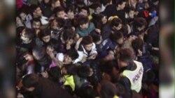 Giẫm đạp chết người ở Thượng Hải trong đêm giao thừa