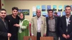 미국에서 생애 첫 시민권 받은 난민 가족