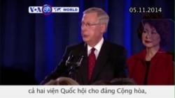Cử tri Mỹ trao quyền kiểm soát cả 2 viện Quốc hội cho đảng Cộng hòa (VOA60)