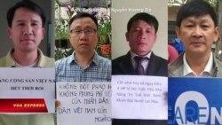 Hội Anh em Dân chủ phản đối Việt Nam bắt các nhà hoạt động