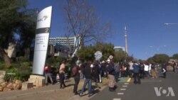 Manifestation en Afrique du Sud: des journalistes accusent le premier média du pays de censure