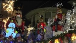 Так виглядає найяскравіший новорічний декор у Нью-Йорку. Відео