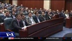 Kryeminisri i Maqedonisë shpalos përbërjen e qeverisë së re