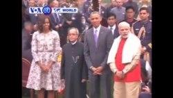 VOA60 Duniya: Shugaba Obama Ya Ziyarci Taron Jamhuriya A Indiya, Janairu 26, 2015