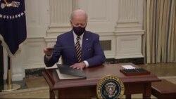 拜登总统新一周面临新冠疫苗等诸多挑战