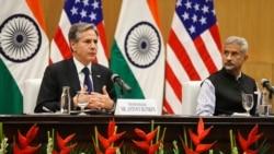 布林肯訪問印度擴大印美夥伴關係