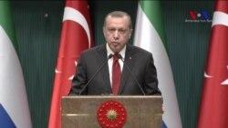 Erdoğan: Deaş Terör Örgütü İle Mücadele Bir Başka Terör Örgütü İle Yürütülmemelidir