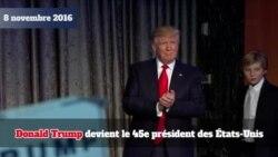 Donald Trump, un an après son élection