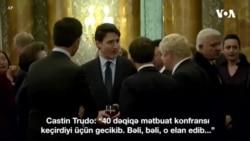 """Donald Tramp Kanadanın baş nazirini """"ikiüzlü"""" olmaqda günahlandırıb"""