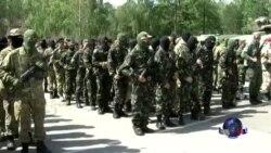 乌克兰总统虽令停火 志愿民兵依然东进