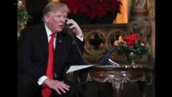 川普对世界各地美军基地致以节日祝贺