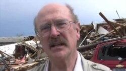 现场目击:奥克拉荷马州小镇遭龙卷风重创