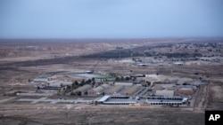 Ayn El Esat hava üssü.