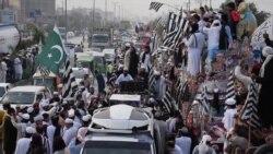 'آزادی مارچ' کے قافلے خیبر پختوانخوا سے اسلام آباد روانہ
