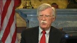 Радник Білого дому з нацбезпеки Джон Болтон розповів чому Росія притихла на міжнародній арені. Відео