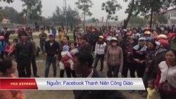Hàng trăm người lại biểu tình ở Hà Tĩnh vì Formosa