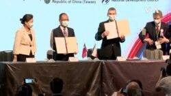 台捷簽署三項經貿合作備忘錄