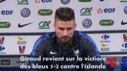 "Euro 2016 : ""On a enlevé le frein à main"" selon Olivier Giroud"