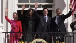 Obama Trudeau White House Visit