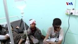 Yemen'deki Hava Saldırısının Kurbanı Çocuklar Oldu