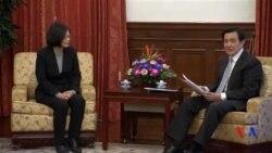 台灣總統與當選總統會晤商談權力交接