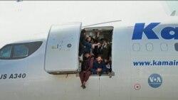 Паніка і хаос розгорнулися у міжнародному аеропорту Кабула. Відео