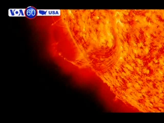 NASA công bố video hiện tượng phát xạ vành nhật hoa