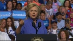 Hillary Clinton on the American Dream and Trump's Make America Great Again