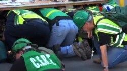 'Büyük Sarsıntı' Deprem Tatbikatına Büyük İlgi