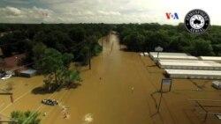 Miles de desplazados por inundaciones en Luisiana