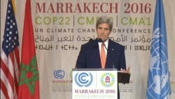Kerry: We Will Not Meet Climate Change Goals