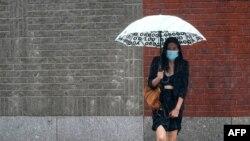 """""""Эльза"""" принесла сильные дожди, затопив отдельные районы Нью-Йорка, 8 июля 2021 года"""