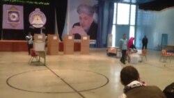 مرکز رای دهی در لیسه امانی