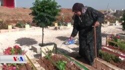 Penaberên Efrînî ji Warên Xwe Dûr Eyda Ramazanê Pîroz Kir