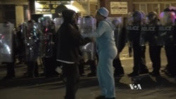 Small Skirmishes Flare in Baltimore as Police Enforce Curfew