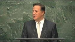 Pdtes. centroamericanos hablan en la ONU