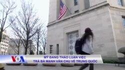 Mỹ đang thảo luận việc trả bà Mạnh Vãn Chu về Trung Quốc