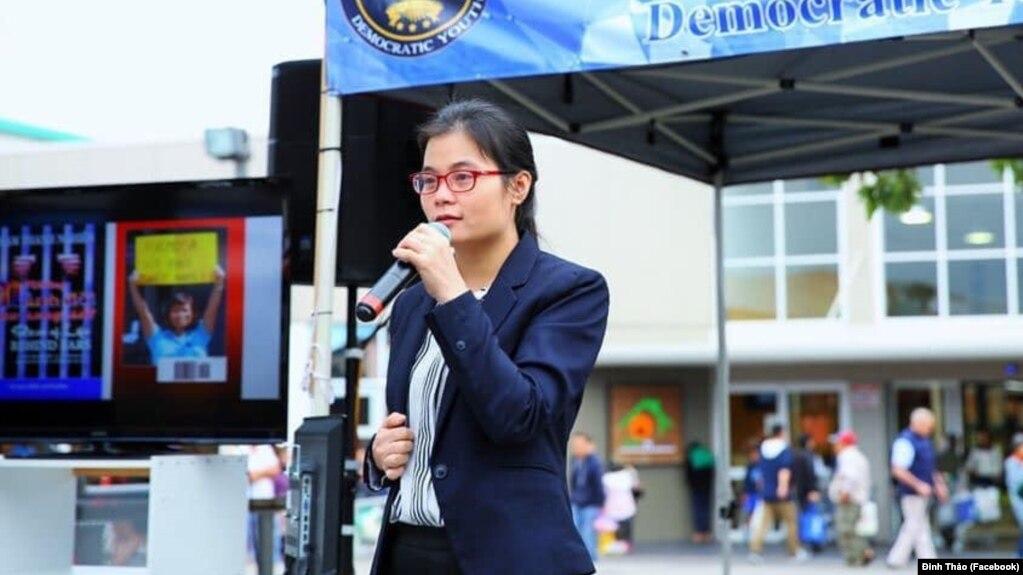 Nhà hoạt động Đinh Thảo.