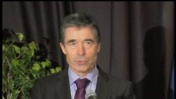2012-02-29 美國之音視頻新聞: 北約秘書長稱讚駐阿富汗部隊顯示極大克制