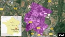 Saint-Quentin-Fallavier, es una pequeña población al sureste de Lyon, Francia.
