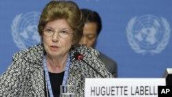 Югетт Лабелль, председатель Transparency International
