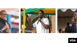 'Yan takarar shugaban kasar Rwanda