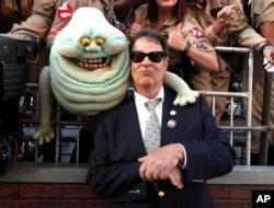 """Dan Aykroyd is seen at the Los Angeles Premiere of Columbia Pictures' """"Ghostbusters"""" at TCL Chinese Theatre in Los Angeles, July 9, 2016."""
