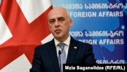 Министр иностранных дел Грузии Давид Залкалиани. Архивное фото