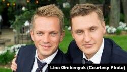 Свадебная фотография Вадима и Саши