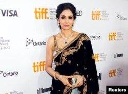 سری دیوی ٹورنٹو کینیڈا کے ایک فلم فیسٹول میں۔ فائل فوٹو