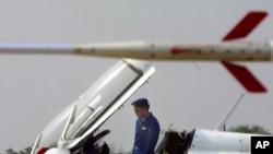 停在天津郊外空军第二十四师的中国造F7战机