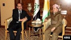 Barzani and Maliki