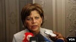 Helen La Lime encontrou-se com João Lourenço